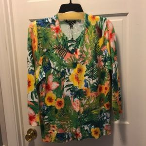 NWT Cable & Gauge Cardigan XL